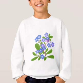 Country Forget Me Nots Sweatshirt