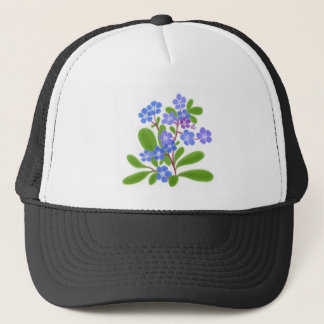 Country Forget Me Nots Trucker Hat