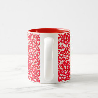 Country-French Red Florets Mug