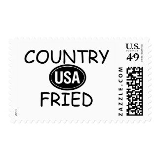 Country Fried Postage Stamp