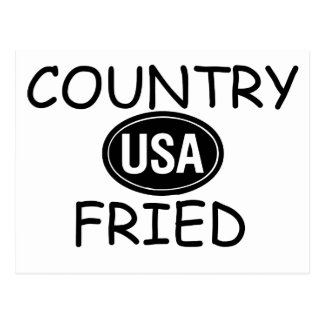 Country Fried Postcard