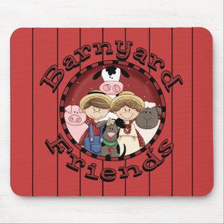 Country Fun Barn Yard Animals Mousepad