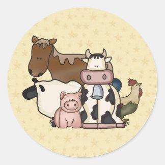 Country Fun Farm Animal Friends Stickers Seals