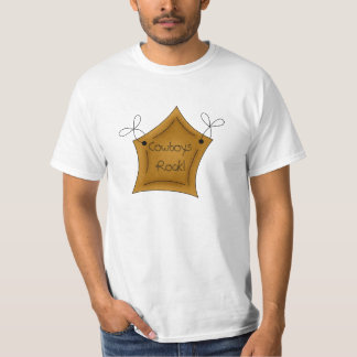 Country Fun Star Cowboys Rock T Shirt