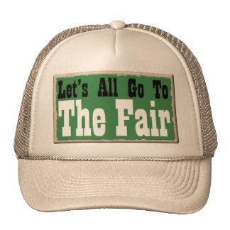 Country Fun The Fair Cap Hat