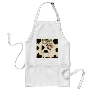 Country Funny Cow Home Sweet Home Apron