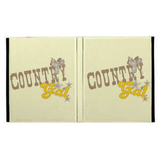 Country Gal iPad Cases