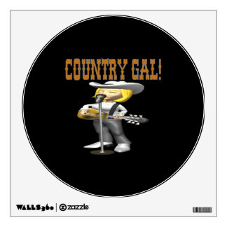 Country Gal Wall Graphics