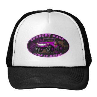 Country Gals like it muddy Trucker Hat