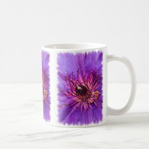 COUNTRY GARDEN FLOWERS CLASSIC WHITE COFFEE MUG