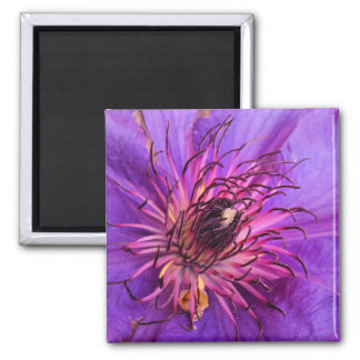 COUNTRY GARDEN FLOWERS 2 INCH SQUARE MAGNET