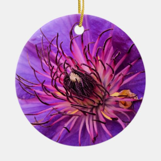 COUNTRY GARDEN FLOWERS CHRISTMAS ORNAMENT