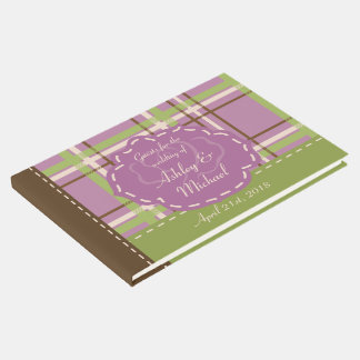 Country Garden Wedding Guest Book