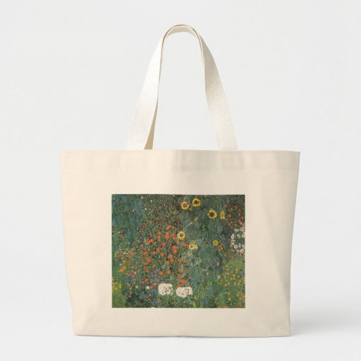 Country Garden with Sunflowers 1907 Canvas Bag