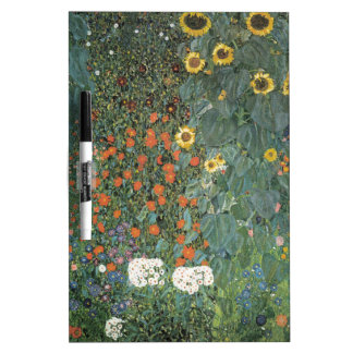 Country Garden with Sunflowers 1907 Dry Erase Boards