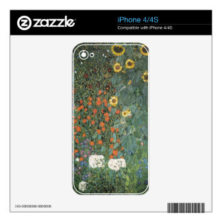 Country Garden with Sunflowers 1907 iPhone 4S Skins