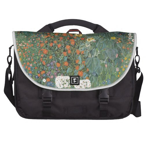 Country Garden with Sunflowers 1907 Laptop Bags