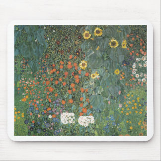 Country Garden with Sunflowers 1907 Mouse Pads