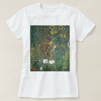 Country Garden with Sunflowers 1907 T-Shirt