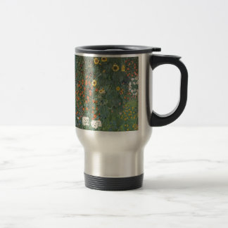 Country Garden with Sunflowers 1907 Travel Mug