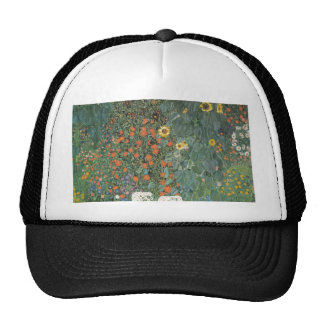 Country Garden with Sunflowers 1907 Trucker Hat
