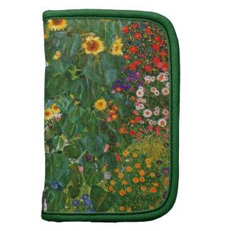Country Garden with Sunflowers by Gustav Klimt Planner