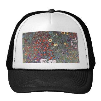 Country Garden with Sunflowers Trucker Hat