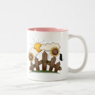 Country Gate Sunflowers Coffee Mug