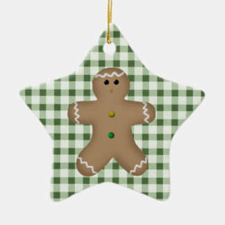 Country Gingerbread Man Ornament