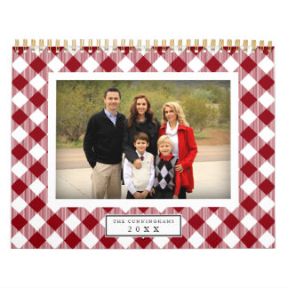 Country Gingham | 2017 Photo Calendar