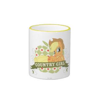 Country Girl 2 Ringer Mug