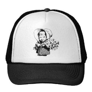 Country Girl holds Flowers Trucker Hat