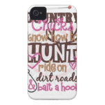 Country Girl Pride iPhone 4 Case-Mate Case