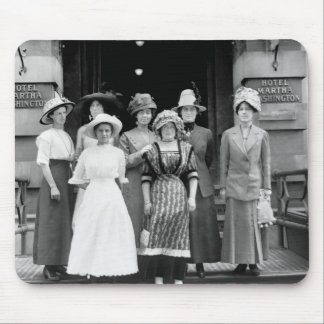 Country Girls Take New York, 1910 Mouse Pad