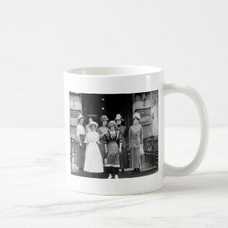 Country Girls Take New York, 1910 Coffee Mug