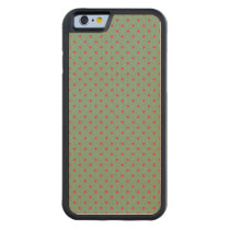 Country Green /Fuchsia iPhone 6 Maple Wood Case