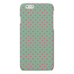 Country Green/Fuchsia iPhone 6 Matte Finish Case Matte iPhone 6 Case