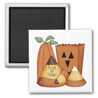 Country Halloween Trick or Treat Magnets