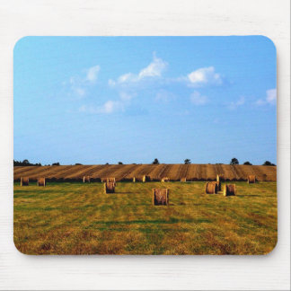 Country Hay Field Mouse Pad