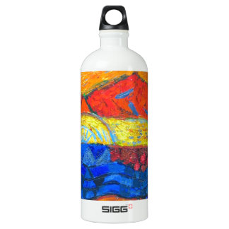 Country Holidays (abstract landscape) SIGG Traveler 1.0L Water Bottle