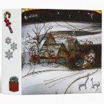 country home Christmas edit Vinyl Binders
