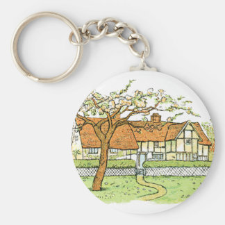Country Home Keychain