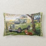 Country Home Lumbar Cushion Throw Pillow