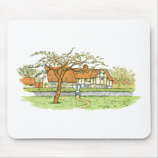 Country Home Mouse Pad