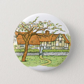 Country Home Pinback Button