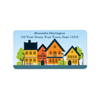 Country Homes, Address Label