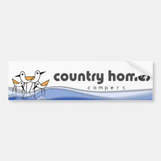 Country Homes Campers Bumper Sticker Car Bumper Sticker