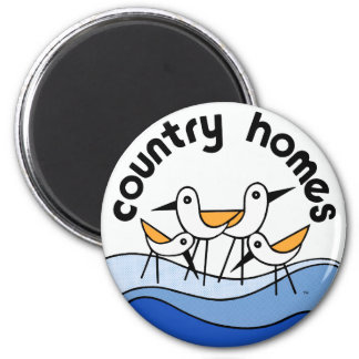 Country Homes Logo Magnet