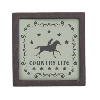 Country Horse Stamp Gift Box