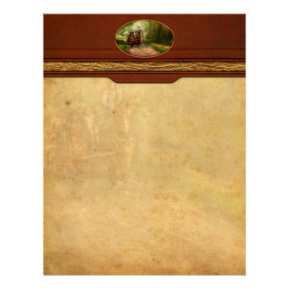 Country - Horse - The hay ride Letterhead Design